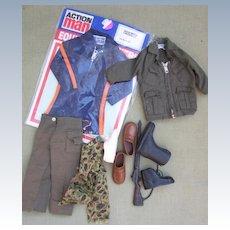 Vintage Palitoy Action Man GI Joe clothes