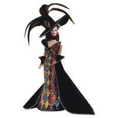 NRFB Mattel Bob Mackie Masquerade Barbie