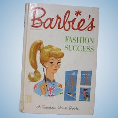 Vintage Barbie Book by Random House
