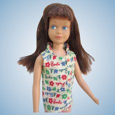 Mattel Brunette Skipper with extra thick Hair