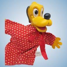 Vintage 50's Disney Pluto Puppet