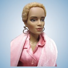 """Tonner African American Doll in """"Wake Up Call""""."""