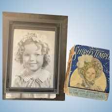 Two Vintage Shirley Temple Items