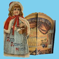 Antique and Vintage Red Riding Hood Boojs