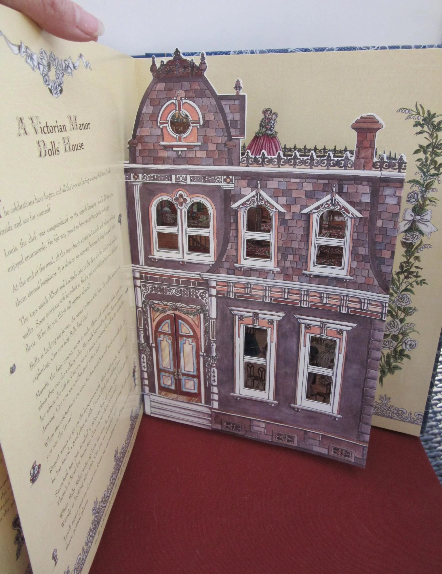 Popup book enchanted dolls house wedding onceagain antique dolls popup book enchanted dolls house wedding click to expand solutioingenieria Choice Image