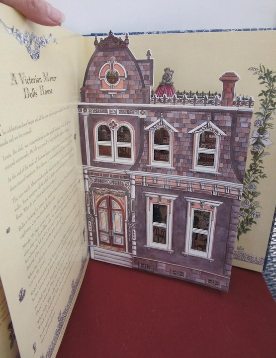 Popup Book Enchanted Doll S House Wedding Onceagain Antique Dolls