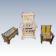 Cast Iron Dollhouse Furniture
