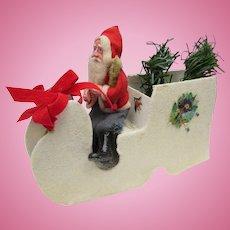 Vintage Santa and his Sleigh