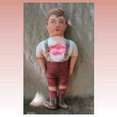 Antique Cloth Conestoga Flour Advertising Doll