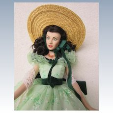Vinyl Scarlett O'Hara in Original Box in BBQ dress