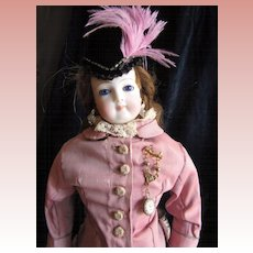 Antique French Fashion in Pretty Clothing