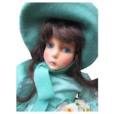 Anili Lenci type felt Girl - Red Tag Sale Item
