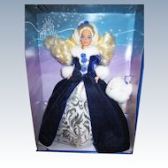 Vintage 1993 Winter Princess Barbie in box
