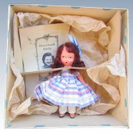 Antique Nancy Ann Storybook Betty Blue in Box