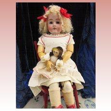 "Antique Kestner 154 28"" with Antique Clothing"