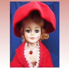 """Vintage 21"""" Madame Alexander Portrait Godey"""