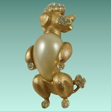 "Trifari ""Fantasia"" Series Poodle Pin"