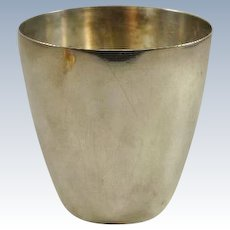 Tiffany and Co Makers Sterling Beaker/Cup