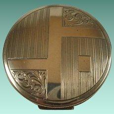 Art Deco Era Sterling Compact