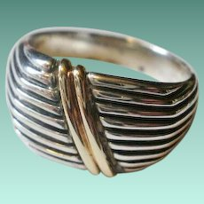 Dolan-Bullock 14k Sterling Ring `10