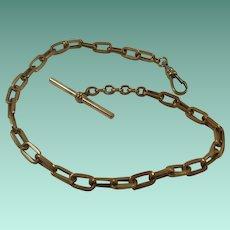 Vintage Gold Filled Large Link Pocket Watch Chain