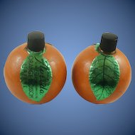 Pair of Bo-Kay Orange Blossom Perfume Bottles Jacksonville Fla