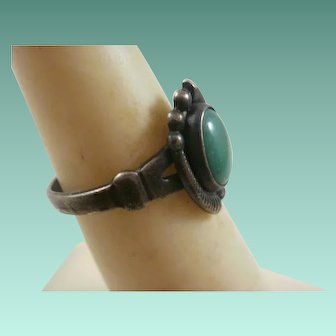 Bell Trading Post Sterling Turquoise Ring