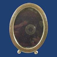 Vintage Chased Sterling Silver Picture Frame
