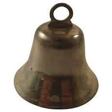 Vintage Sterling Silver Dinner Bell