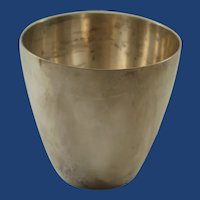 Vintage Tiffany & Co Makers  Sterling Silver Cup