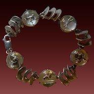 Sterling Silver Essex Crystal Equestrian Bracelet