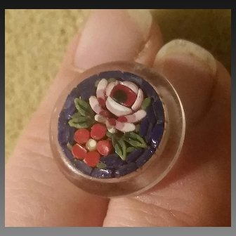 Italian Mosaic Button 2cm
