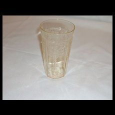Anchor Hocking Depression Glass Princess Tumblers