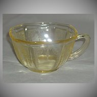 Anchor Hocking Depression Glass Princess Cups
