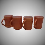 Fire King Anchor Hocking Ranger Coffee Mug-Lot 4