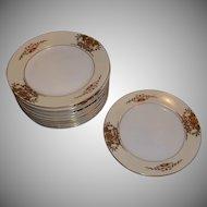 Vintage Noritake China 42200 Bread & Butter Plates