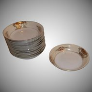 Vintage Noritake China 42200 Berry/Fruit Bowls