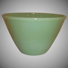 Fire King Jadeite Splash Proof Nesting/Mixing Bowl