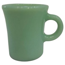 Fire King Jadeite Slim Chocolate Mug