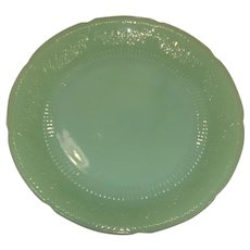 Fire King Jadeite Alice Dinner Plates, Lot of 4