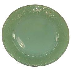 Fire King Jadeite Alice Dinner Plates, Lot of 4
