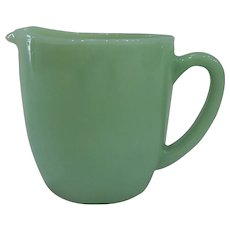 Fire King Jadeite Milk Pitcher 20 oz.
