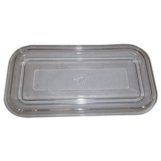 Fire King Clear Refrigerator Dish Lid Only