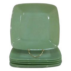 Fire King Jadeite Charm Luncheon Plate – 6 available