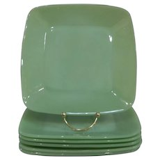 Fire King Jadeite Charm Luncheon Plate – 4 available