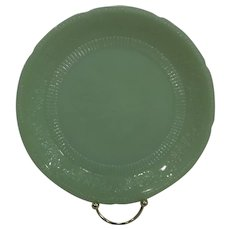 "Fire King Jadeite Alice Dinner Plate 9"""