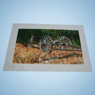 Listed Artist James Feriola b(1925) Country Landscape Watercolor Original Painting Fall Autumn