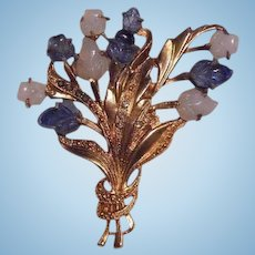 Spectacular Reinad Fruit Salad Spray Brooch