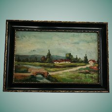 **Reserved for A** Hungarian Artist Adolphe Fenyes (1867-1945) Hungary Landscape Oil Painting