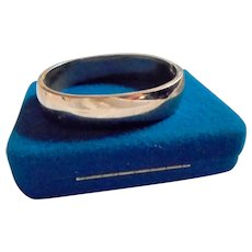 Sleek! Sterling Silver Solid and Chunky Clamper Cuff Bracelet